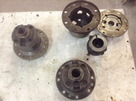 DIFFERENTIAL KIT,RR LIMITED SLIP